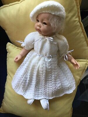 Reborn Doll Dress Set Knitted. 15-16""