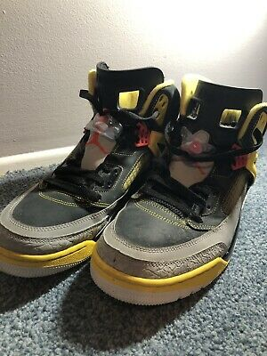 separation shoes a1e62 3603c Air Jordan Spizike Black Red Yellow Spike Lee Size 12
