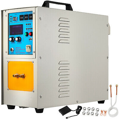Induction Heater Furnace 15Kw 30-100Khz High Frequency Lh-15Ab New O