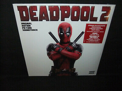 Deadpool 2 Movie Soundtrack Urban Outfitters Limited Ed RED Sealed New Vinyl LP