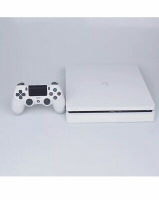 Sony PlayStation 4 Slim 500GB Glacier White Spielkonsole