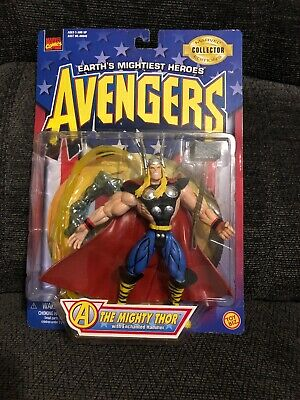 NIB 1997 ToyBiz Marvel Collector Editions Avengers The Mighty Thor Action Figure