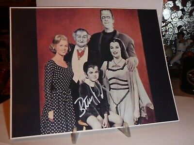 VINTAGE Butch Patrick Eddie Munster signed autograph photo 8X10 THE MUNSTERS