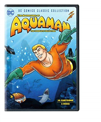 Pb Children/Family-Adventures Of Aquaman-Complete Collection (Dvd/2 Dis Cd Nuovo