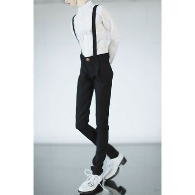 Black Sports Hoody Pants Outfits For  BJD 70cm SD17 Uncle AOD AS DOD DZ dollfie