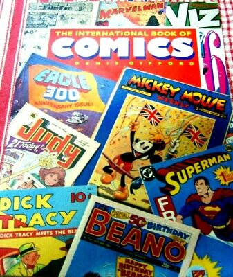 The International Book Of Comics..denis Gifford..hamlyn 1990..A Softcover Copy.