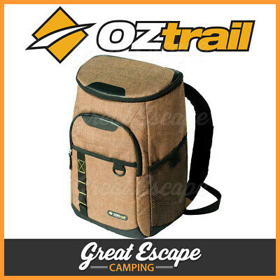 Oztrail 24 Cans Backpack Cooler Insulated Picnic Bag for Camping Hiking Fishing