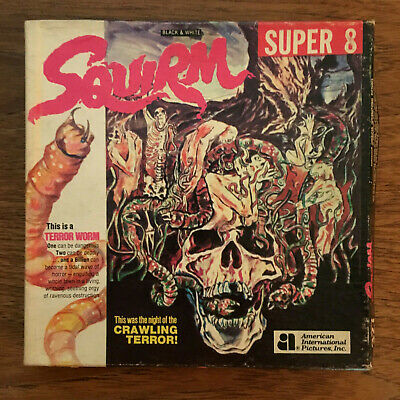 SQUIRM 1976 Super 8mm Sound Color 400 ft. in box (1977 KEN FILMS release)
