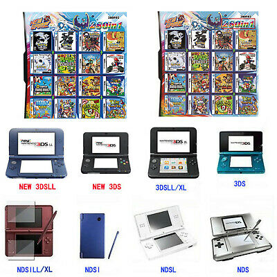 280 in 1 Combination Games Card Cartridge For Game 2DS/NDS/DSLITE/DSi/3DS/Xl