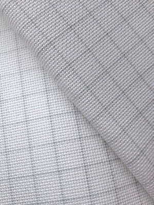 Easy Count white 20 Count Zweigart Aida cross stitch fabric various size options
