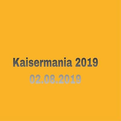 2 Tickets Roland Kaiser Kaisermania 2019 02.08.2019