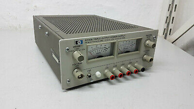 HP Hewlett Packard 6236B Triple Output Power Supply 6V 2.5A +-20V 0.5A