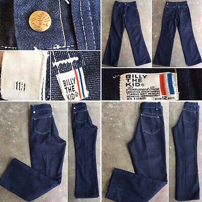 Vintage Billy The Kid Jeans Size 12 Reg Permanent Press