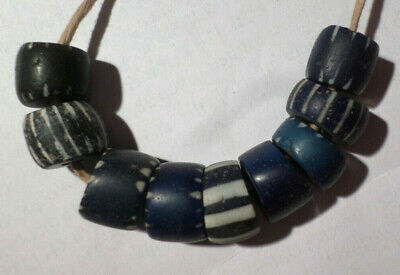 Antike Glasperlen,venezian./holländ. Chevron,Old Glass Beads,Chevron,Trade Beads