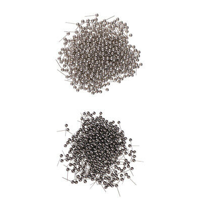 400 Pcs Stainless Steel Sewing Pins Straight Pins Head Pins Dressmaking Pins