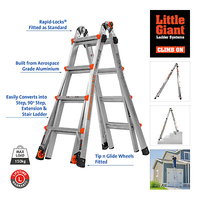 Little Giant Velocity - 24 Ladders in One - Multi-purpose Combination Ladder