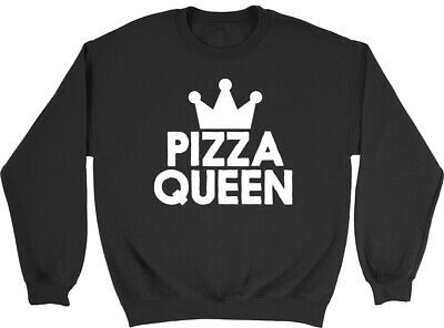 Pizza Queen Girls Kids Childrens Sweatshirt