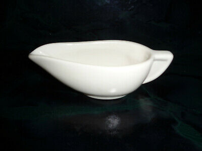 Hall Pottery White Small Creamer Art Deco - Very Nice!