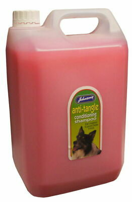 Johnson's Chien Anti-enchevêtrement Climatisation Shampoing 5 Ltr - Noeuds