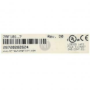 B&R Automation 7AF101.7 PLC Analog Interface Module with 12 month warranty