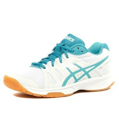 dfb737489095 Gel Upcourt Gs Fille Chaussures Volley-ball Blanc Asics Blanc