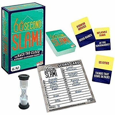60 Second Slam - Family Board Game