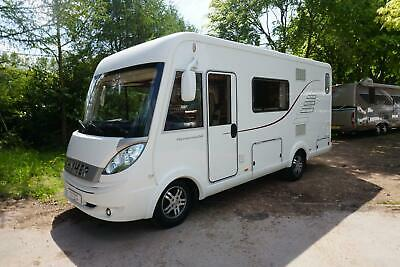 Hymer B544 Hymermobil Luxury A Class 4 Berth End Kitchen Motorhome For Sale
