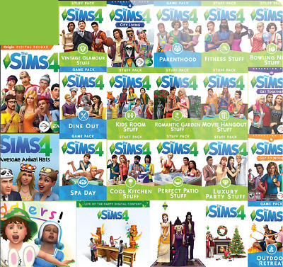 The Sims 4 Expansion packs base Origin Global PC Key