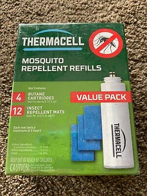 ThermaCELL Mosquito Repellent Refills R-4 Value Pack