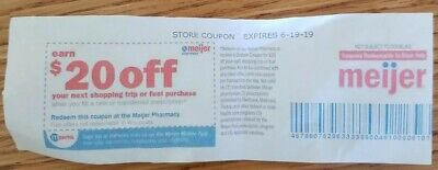Meijer $20 Off Next Shopping Trip Or Fuel With New Or Transferred Rx Coupon