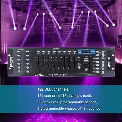 Disco Light Controller 192 Channels Dmx512 Console Stage Light Party Equipment