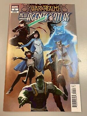 War of the Realms New Agents of Atlas #1 1:25 Pyeong Jun Park Variant 1st VF/NM