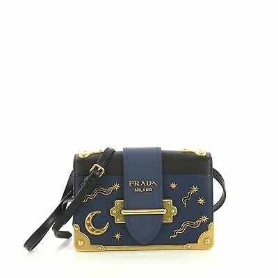 2b188478c406 PRADA CAHIER CROSSBODY Bag City Calf and Saffiano Leather Small ...