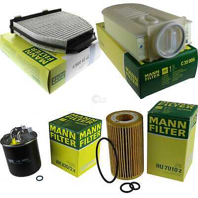 Mann-Filter Package D'Inspection Set Mercedes-Benz Classe C S204
