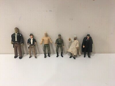 Vintage 1982 Raiders Of The Lost Ark Indiana Jones Action Figures & 1 LJN INDY