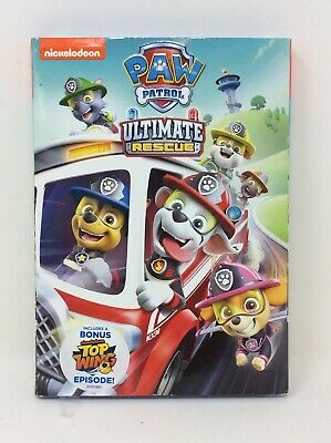 Paw Patrol Ultimate Rescue DVD w/ Slipcover