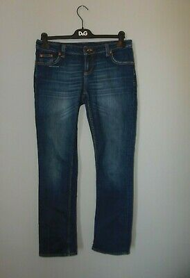 River Island mid wash distressed skinny jeans, Size 14