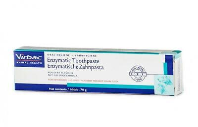 Virbac Enzymatic Toothpaste For Dogs & Cats - Poultry Flavour, 43g