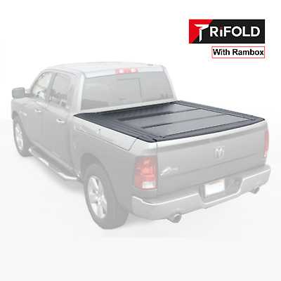Trifold Tonneau Cover Dodge Ram 5.7ft truck length bed