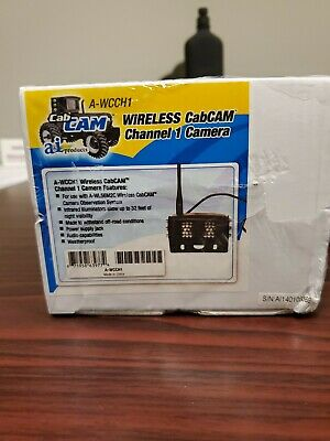 WCCH1 Universal Farm CabCAM Camera, Wireless 110° Channel 1 (2414 MHZ) A-WCCH1
