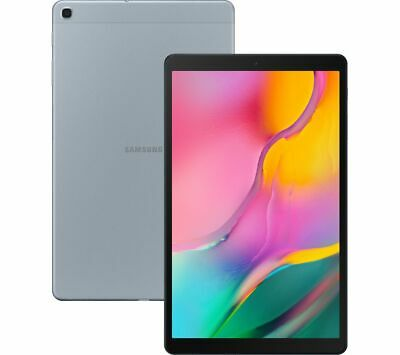 "SAMSUNG Galaxy Tab A 10.1"" Tablet (2019) - 32 GB, Silver - Currys"