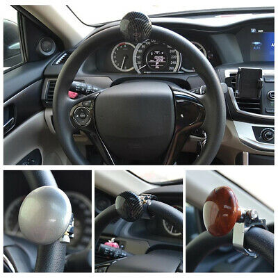 Durable Auto Car Steering Wheel Suicide Knob Spinner Handle Power Ball Assister
