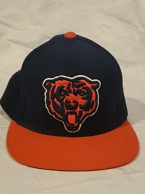 low priced 35575 2c05b NFL Chicago Bears Mitchell And   Ness Snapback Cap Hat Bear Logo Nice