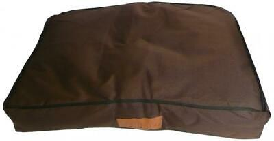 Extra Large 117cms x 75cms Waterproof Dog Bed in Brown will fit Ellie-Bo 48...