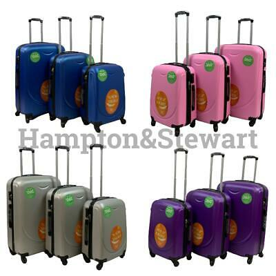 Lightweight Luggage Travel Suitcase Trolley Cabin Case Wheeled Hard Shell