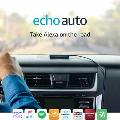 New in Box! - Amazon ECHO AUTO - The first Echo for your Car! - Alexa on the Go!
