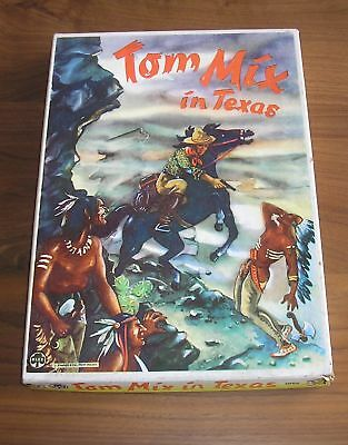 TOM MIX IN TEXAS Altes Brettspiel von KLEE