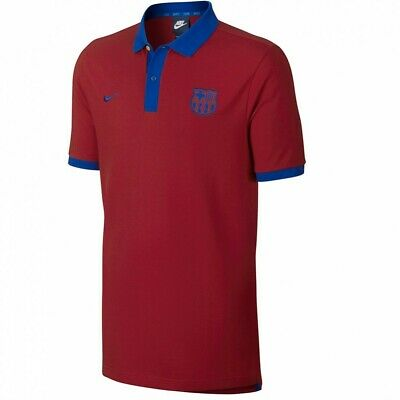 42e8f24cd S POLO RED Nike Fc Barcelona New With Labels Fcbarcelona Shirt Fcb ...