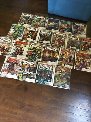 21x Issues COMICS BUYERS GUIDE'S From 2009 -2011 NM