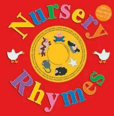 Classic Nursery Rhymes Sing-Along Music CD Children Learn Word Music Interaction